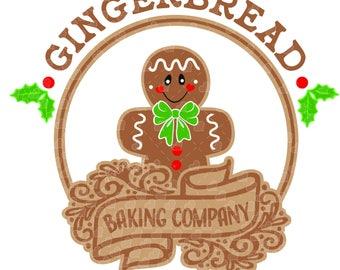 Gingerbread Baking Company SVG
