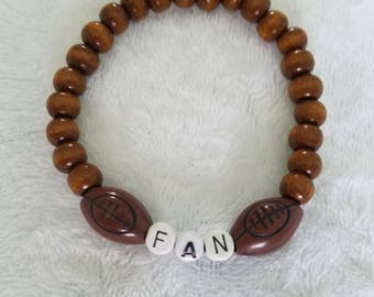 Handmade Football Fan Bracelet (Unisex)