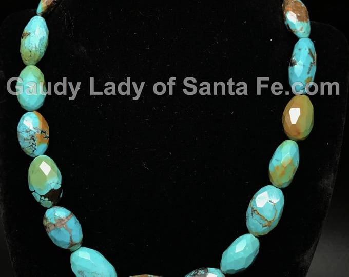 Turquoise Facetted Stones