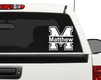 Car Decals For Men, Car Accessories For Men, Personalized Gift For Him,  Personalized