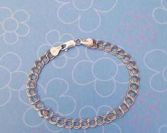 925 Circle Design Bracelet