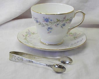 Silver plated Apostle sugar tongs, sugar nips, serving cutlery. Kitchenalia, flatware silverware. Edwardian Victorian antique vintage silver
