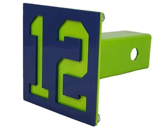 Seattle Seahawks 12th Man Hitch Cover