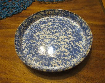 Cobalt Spotted Plate