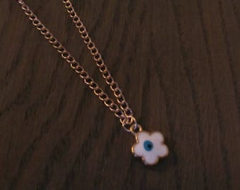 Necklace Angry Eye Rosé gold