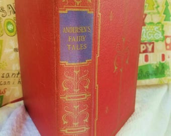 Hans Andersen's Fairy Tales and Wonder Stories – 1942 – WWII Edition - 443 Story Pages
