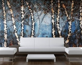 wall paper wall covering stick poster wallpaper nature wall paper wall