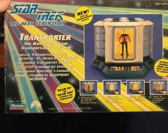 Star Trek the Next Generation TRANSPORTER 6104. Only 150000 produced.  44896 of 150000