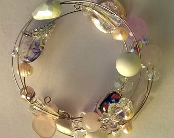 bracelet in pastel colours