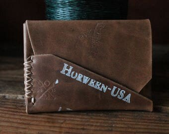 Gun Deck™ Wallet -- Horween CXL and Dublin