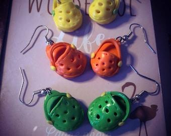 Hooks in earrings