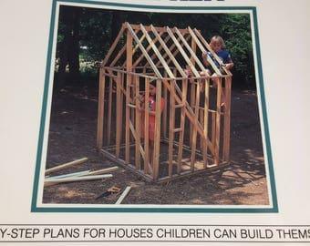 Vintage Book Housebuilding for Children