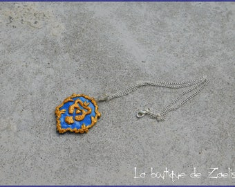 World of Warcraft ALLIANCE pendant necklace