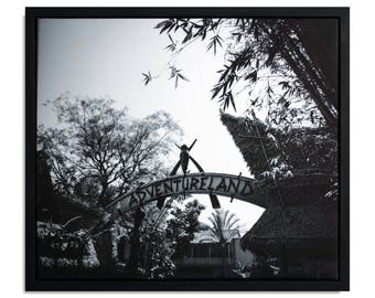 "Fine Art Photography ""Adventureland"" Framed Stretched Canvas"