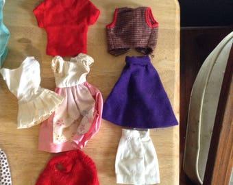 Vintage Barbie clothing lot