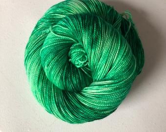 Emerald City – Full Skein on Molly MCN Fingering – 400yds/100g – 80/10/10 SW Merino/Cashmere/Nylon
