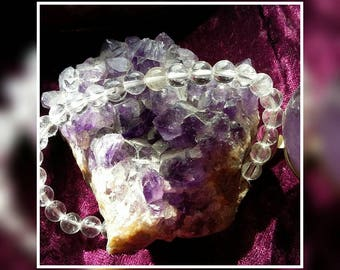 Bracelet rock crystal.