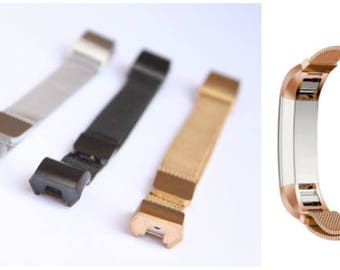 Fitbit Alta Stainless Steel Tracker Bands Straps