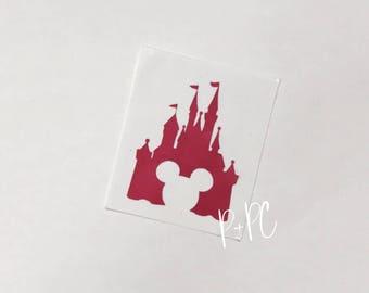 Disney Castle Decal, Car Decal