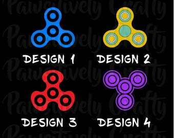 Fidget Spinner Decal, Fidget Spinner, Hand Spinner Decal, Fidget Toy, Spinner Toy, Vinyl Decal, Spinners, Car Decals, Tumbler Decals, Laptop