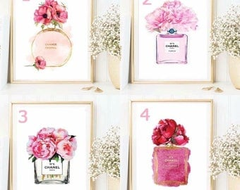 Chanel flower print - 4 styles avilable