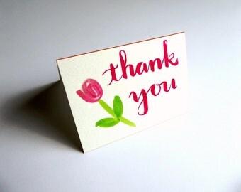 Thank You Card || Card & Envelope Set