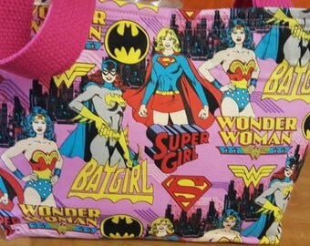 Comic women hero purse
