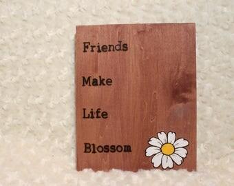 Inspiration Quote Plaque