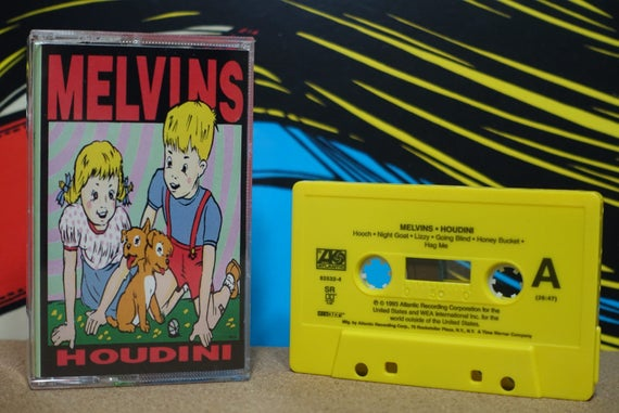 Houdini by Melvins Vintage Cassette Tape