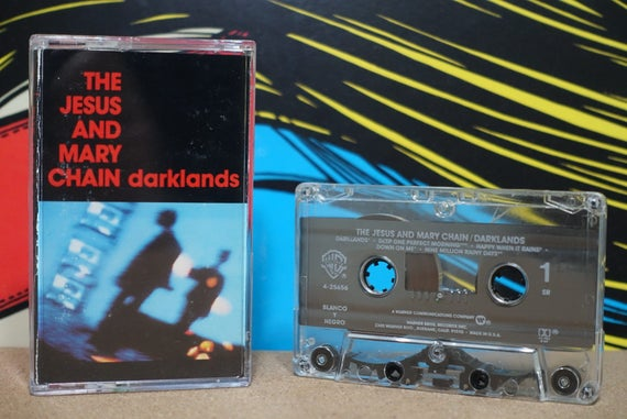 Darklands by The Jesus And Mary Chain Vintage Cassette Tape