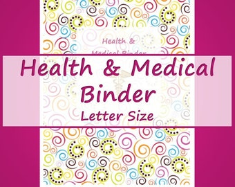 Health and Medical Printables -- Pink Floral