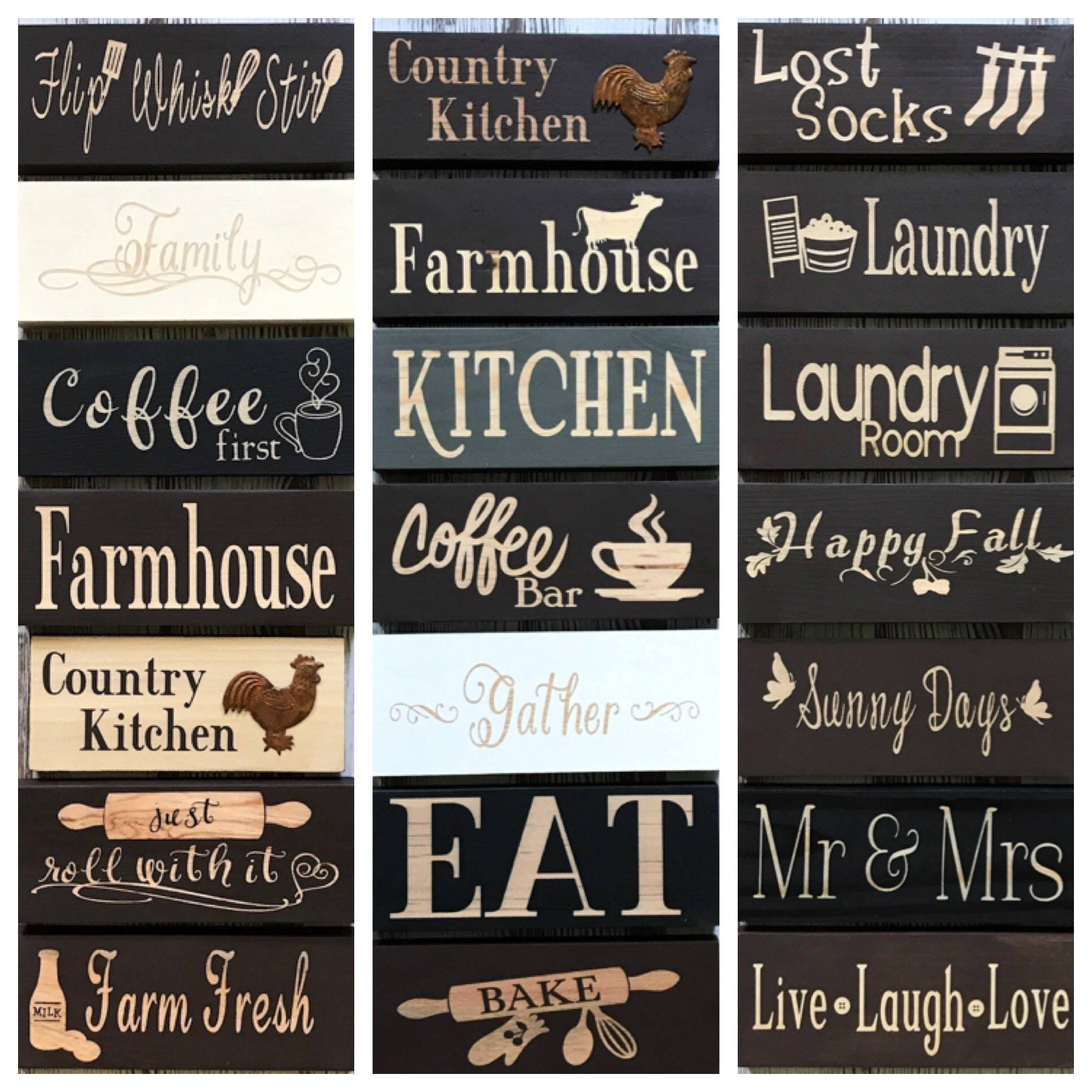 Kitchen decor signs coffee first sign coffee bar sign for Kitchen decoration signs