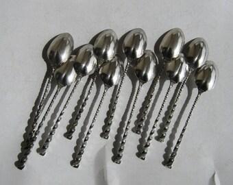 Sterling Demitasse Spoon Set