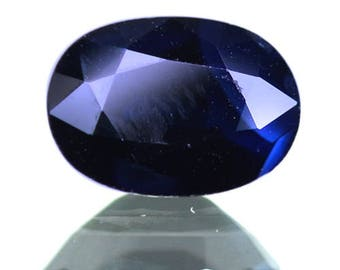 1.62 Ctw Best Dark Blue Collection Top Selling Natural Sapphire