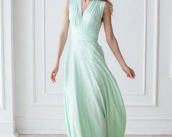 Sagebrush pearl color dresses