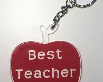 Teacher's Keyring Gift