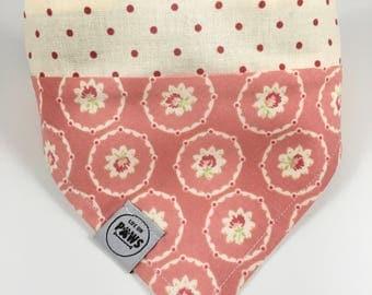 Pretty in Pink Slip On Bandana