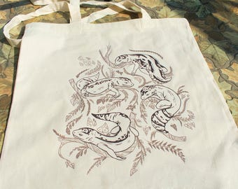 Sleeping Leopard Gecko Tote Bag