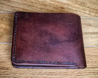 All American Leather Wallet with Horween Chromexel