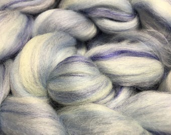 Frosted Blueberry Merino/Bamboo Blend Spinning Fiber