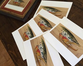 Brown Trout Prints