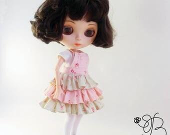 Blythe doll clothes, Blythe doll dress, Blythe doll t-shirt