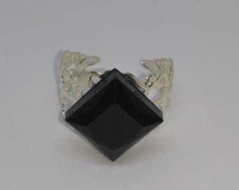 Resin Diamond Diamond filigree ring