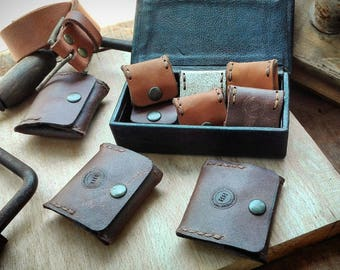 French coin leather purse