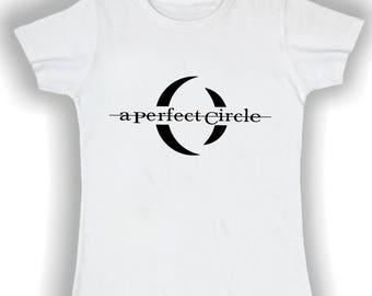Women's Basic t shirt a perfect circle
