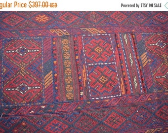 Big sale Hand Knotted Gorgeous Tribal Sumik Runner 2 x 9'3 FT