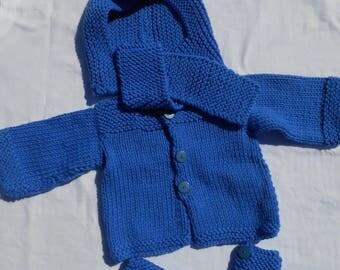 Set 3 months baby blue