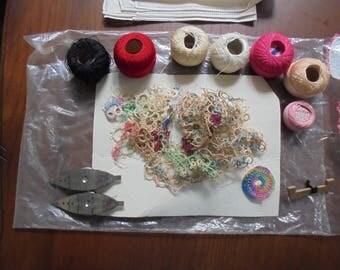 Vintage Lace Handkerchief Supplies