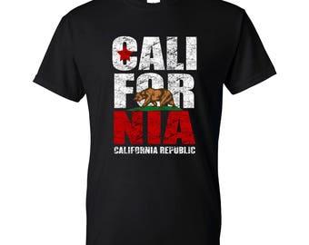 California Republic / Cali T-Shirt Vintage Style - Ready to ship!
