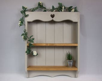 English Country Solid Redwood Pine Shelf, Display Shelf, Wall Storage, Wall Rack, Shelving Unit, Floating Shelf, Dresser
